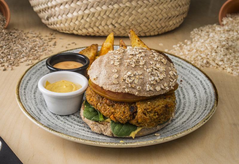 La hamburguesa vegana (de quinoa y verduras) por la que no te importará no comer carne.
