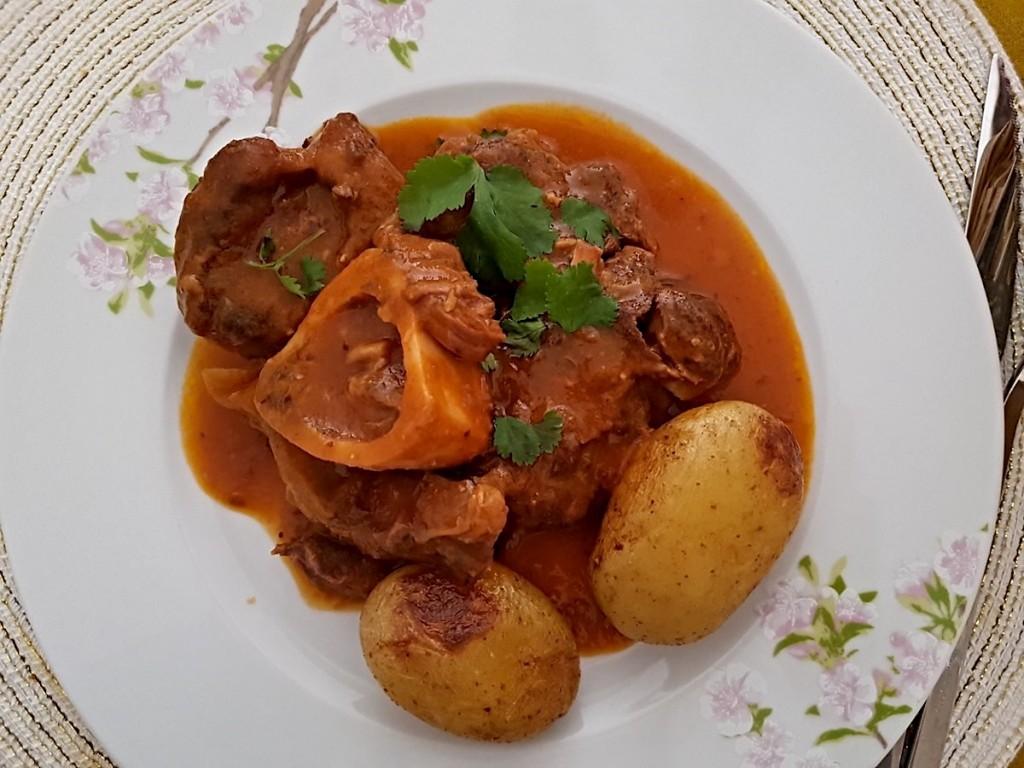 Ossobuco al curry francés, el Vadouvan