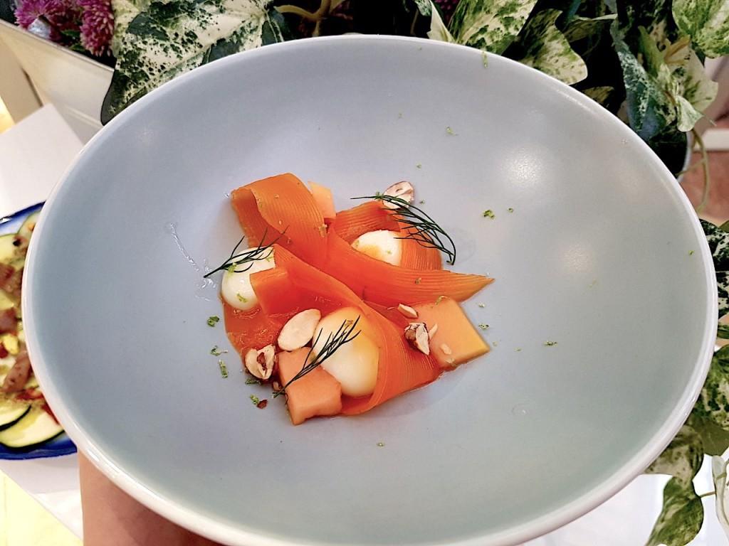 Zanahoria, Papaya y Queso, el postre ideal para el verano