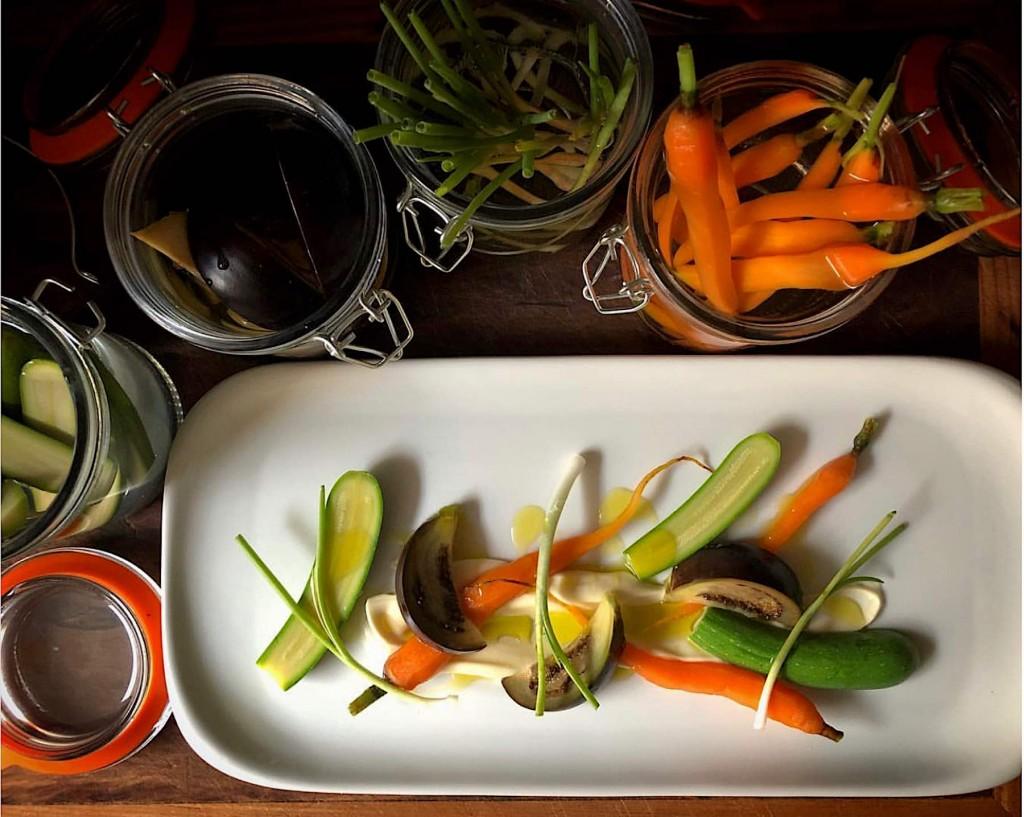 Verduras aciduladas con pilpil de coliflor y mucho más en el concurso #TapasVerdes