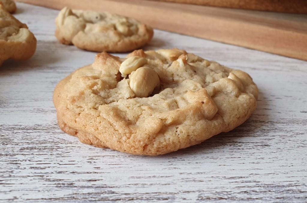 Las masa de cookies perfecta. Cookies de arándanos y avellana.