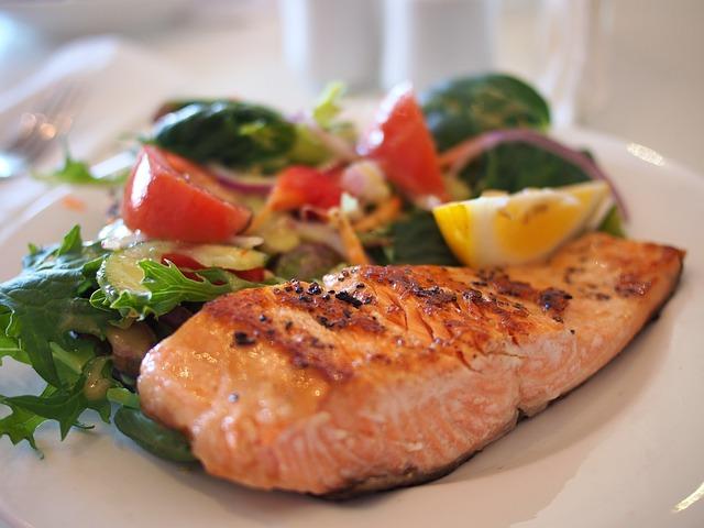 Receta de ensalada de lentejas con salmón