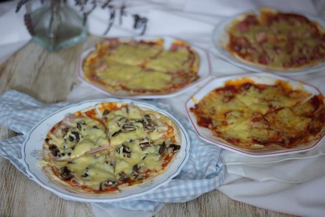 Tortipizzas en sartén