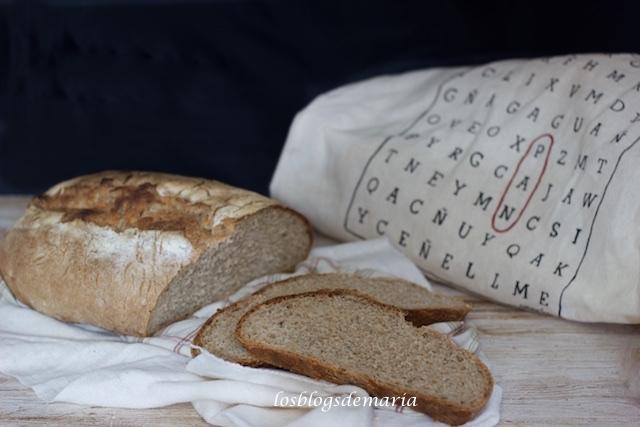 Pan integral de pipas de girasol
