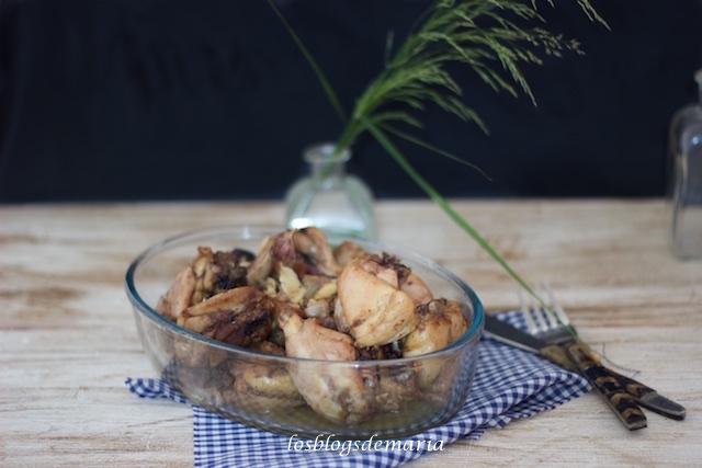 Pollo al tomillo en Airfryer