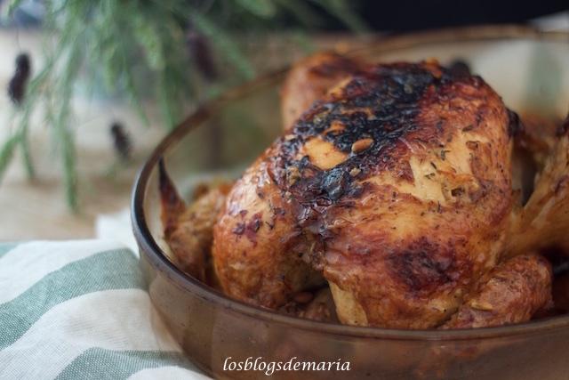 Pollo asado al vinagre