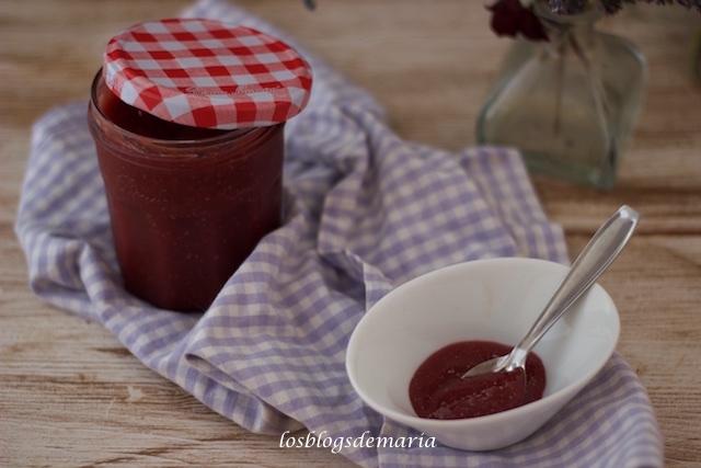 Mermelada de fresas y melocotón en Cuisine