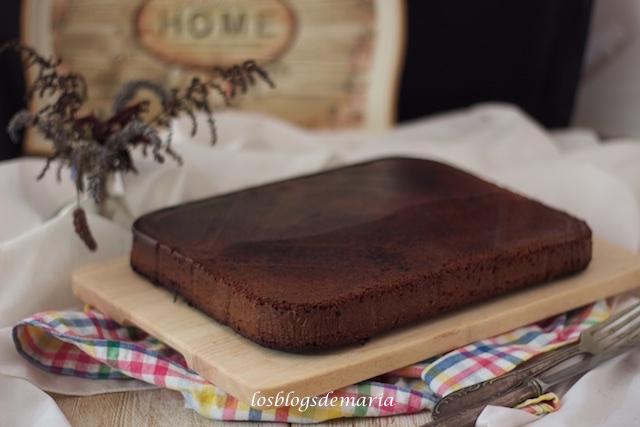 Bizcocho de mantequilla de cacahuete y nutella