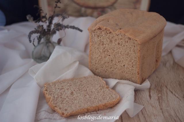 Pan de molde francés con harina integral