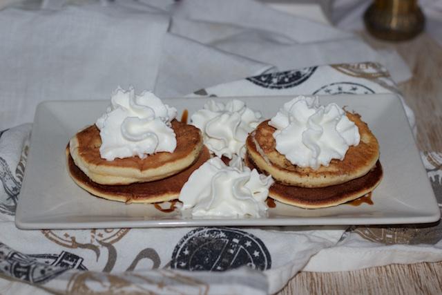 Tortitas con leche de avellana