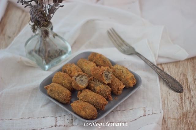 Croquetas de berenjenas y queso
