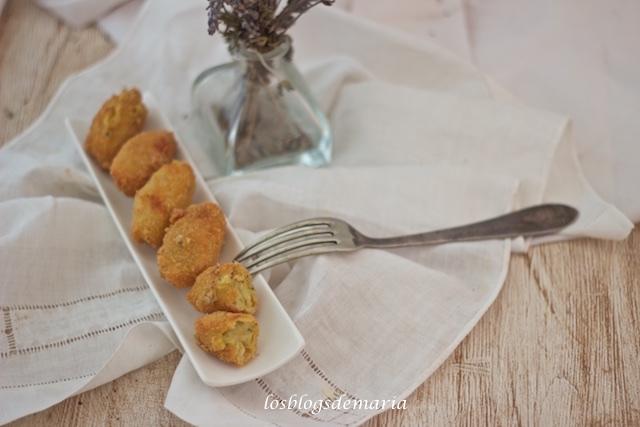 Croquetas de calabacines y jamón