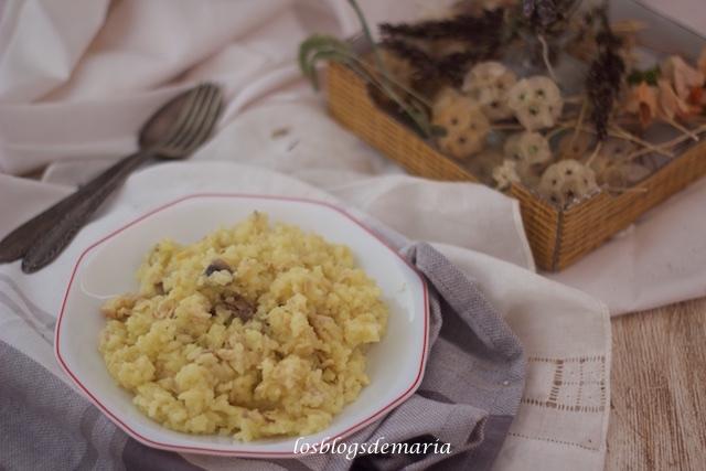 Arroz con pollo y champiñones en Cuisine Companion