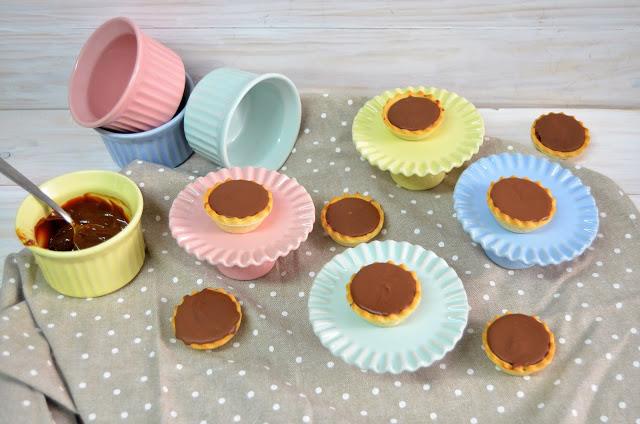 Tartaletas dulces (postre 3 ingredientes)