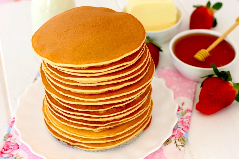 Tortitas americanas o Pancakes