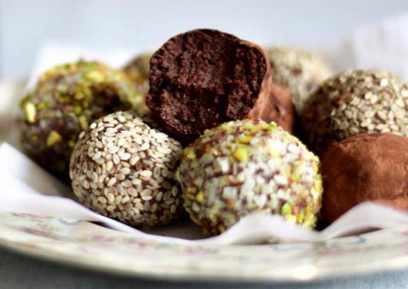 Trufas de chocolate sin gluten