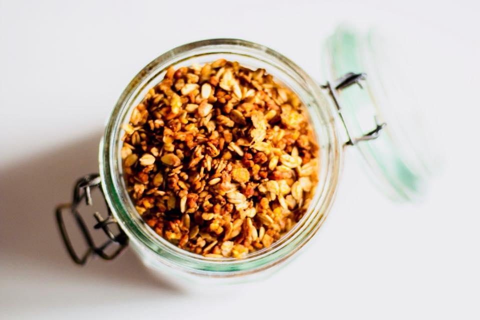 Granola tres cereales