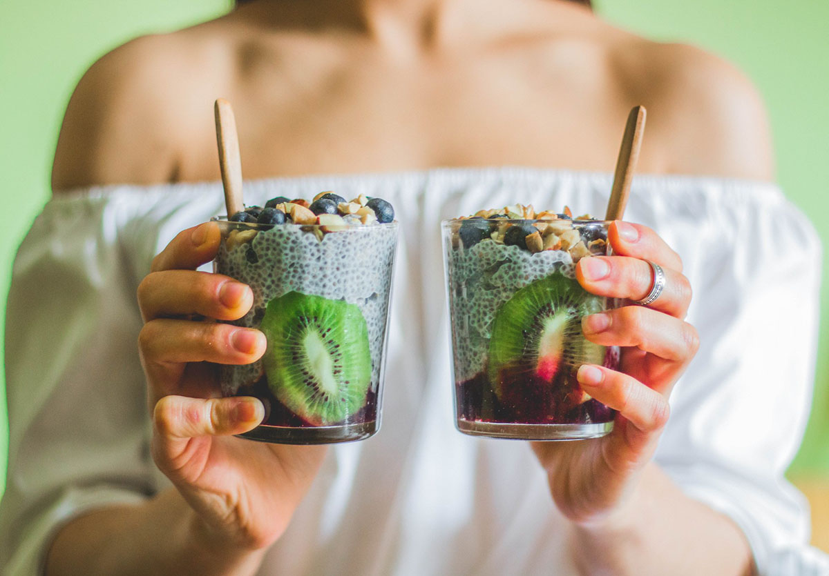 Un postre healthy y vegano: chía pudding