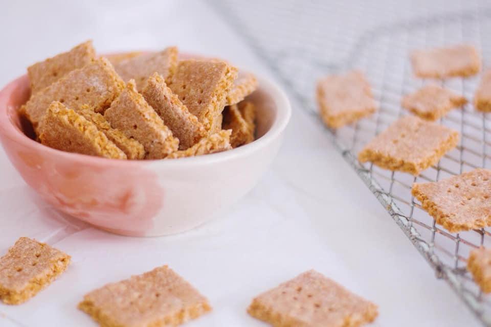 Crackers de avenas y garbanzos