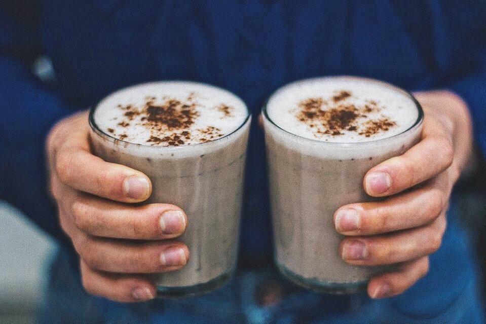 Bananapuccino ¡Shake de café y banana!