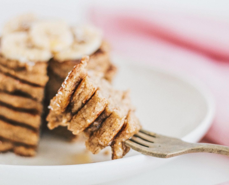 Vegan pancakes ¿con fórmula matemática?