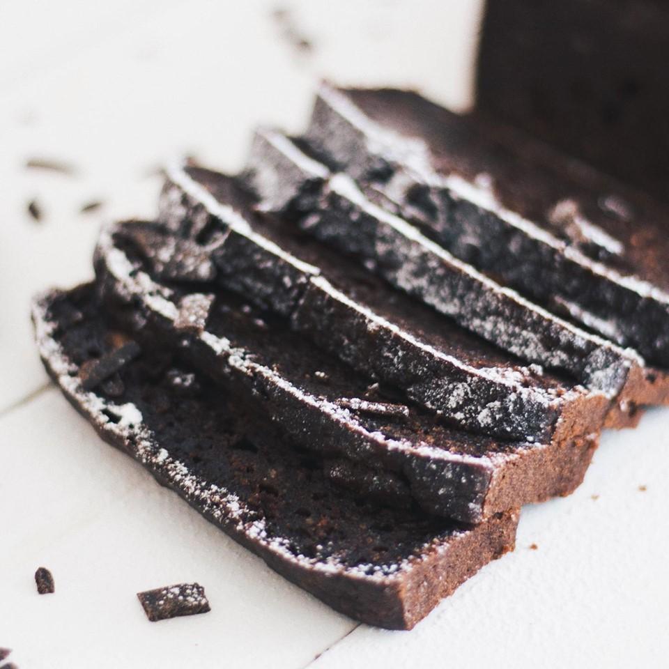 Budín vegano ¡A puro chocolate!