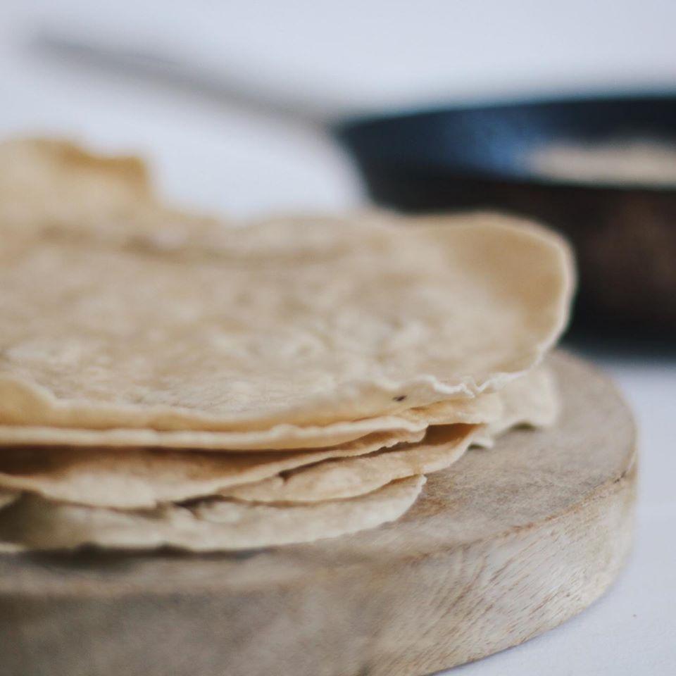 ¡Tortillas de harina para rellenar con lo que quieras!