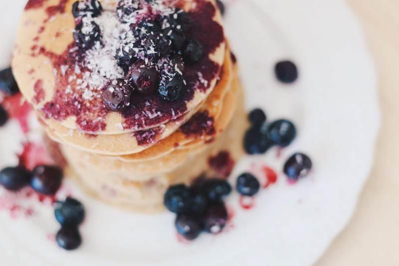 Hotcakes veganos en 3 pasos