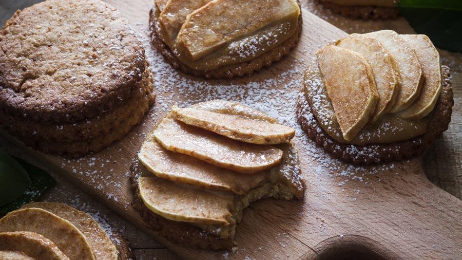 Tartaletas de manzana