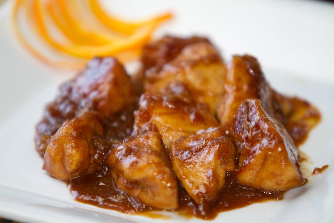 Recetario de confinamiento: Pollo con salsa de naranja al estilo chino